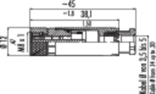 Binder 99-3376-100-04 Sensor-/actorstekker M8, schroefsluiting, recht Aantal polen: 4 Inhoud: 1 stuks