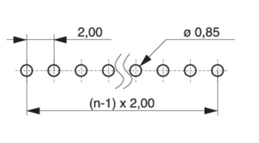 Male header (standaard) Aantal rijen: 1 Aantal polen per rij: 4 MPE Garry 150-1-004-0-S-XS0-0835 2000 stuks