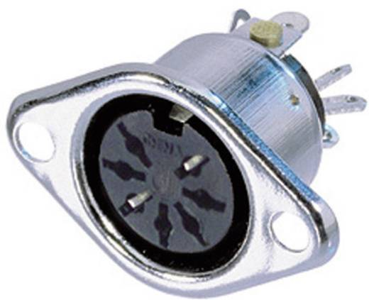 Neutrik NYS326 DIN-connector Flensbus, contacten recht Aantal polen: 7 Zilver 1 stuks