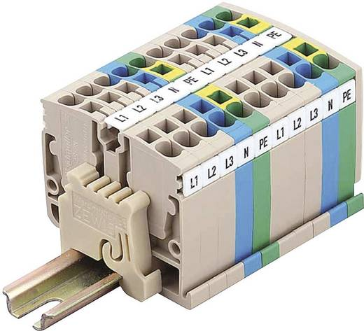 Mini-Terminal blokken ZDUA ZDUA 2.5-2 1720920000 Beige Weidmüller 1 stuks