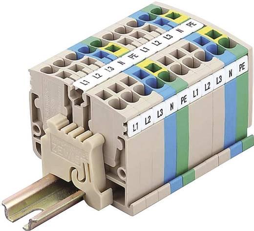 Weidmüller ZDUA 2.5-2 Mini-Terminal blokken ZDUA Beige 1 stuks