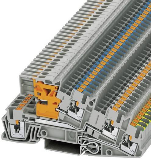 Phoenix Contact PITI 2,5-PE/L/NT Push-in drie-etage-installatieklemmen PTI Grijs Inhoud: 1 stuks