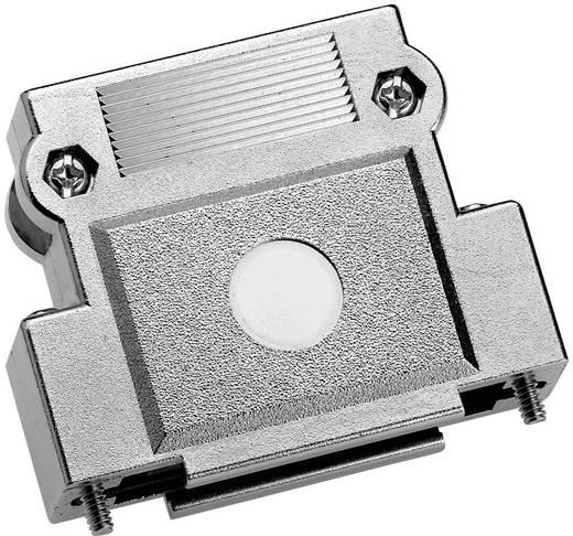 Provertha 37150M001 D-SUB behuizing Aantal polen: 15 Kunststof, gemetalliseerd 180 ° Zilver 1 stuks
