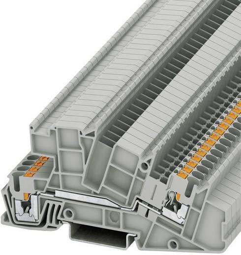 Phoenix Contact PITI 2,5-L Push-in drie-etage-installatieklemmen PTI Grijs Inhoud: 1 stuks