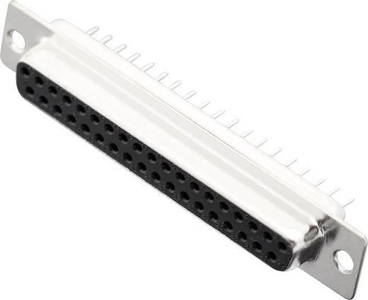 MH Connectors MHDD37-F-T-B-S D-SUB bus connector 180 ° Aantal polen: 37 Solderen 1 stuks