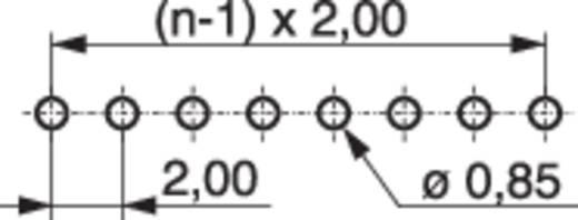 Male header (standaard) Aantal rijen: 1 Aantal polen per rij: 40 MPE Garry 332-1-040-0-F-XS0-0700 400 stuks