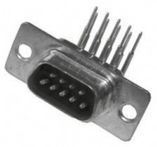 MH Connectors MHDD09-M-T-B-S-RBM D-SUB male connector 90 ° Aantal polen: 9 Solderen 1 stuks