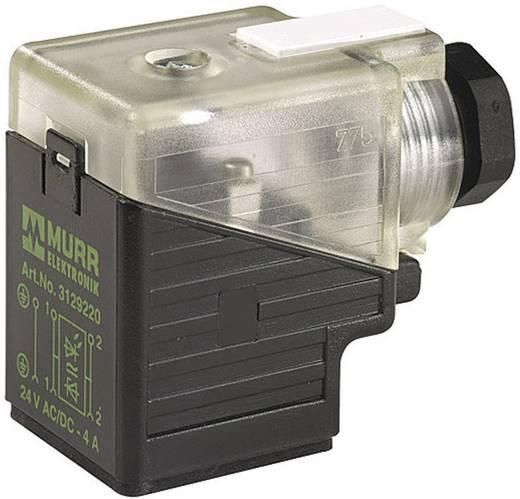 Murr Elektronik MSVS Klepconnector SVS Zwart, Transparant Aantal polen:3 Inhoud: 1 stuks