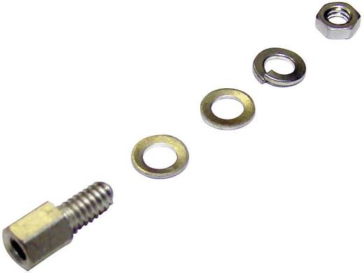 Provertha 531333TA002 Bevestigingsbouten Zilver 1 stuks