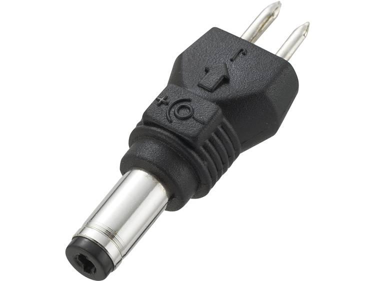 VOLTCRAFT 93027C32 Laagvolt-adapter met Laagspanningconnector Buiten-Ø: 4.75 mm, Binnen-Ø: 1.75 mm,