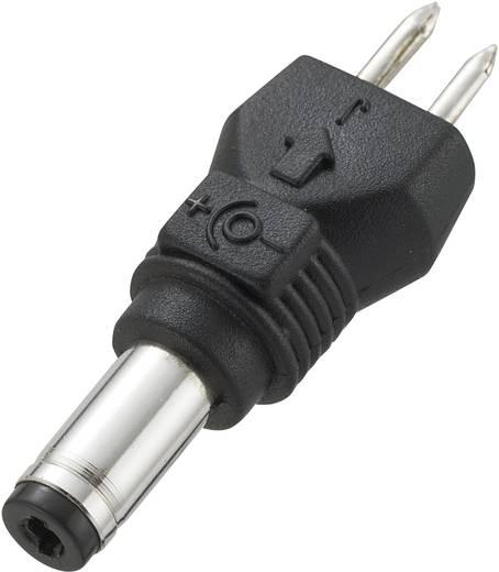 VOLTCRAFT 93027C32 Laagvolt-adapter met Laagspanningconnector Buiten-Ø: 4.75 mm, Binnen-Ø: 1.75 mm, recht 1 stuks