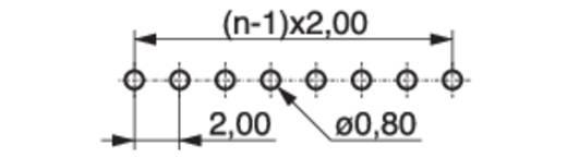 Female header (standaard) Aantal rijen: 1 Aantal polen per rij: 7 MPE Garry 156-1-007-0-NFX-YS0 560 stuks