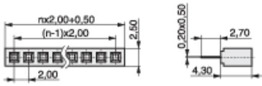 Female connector (standaard) Aantal rijen: 1 Aantal polen per rij: 3 MPE Garry 156-1-003-0-NFX-YS0 1056 stuks