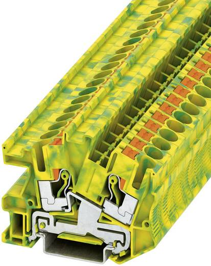 Phoenix Contact PTI 6-PE Push-in installatie-aardklem PTI Groen-geel Inhoud: 1 stuks