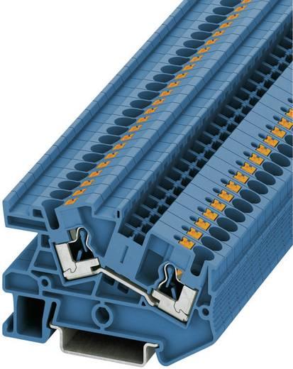 Phoenix Contact PITI 4-BU Push-in doorgangsinstallatieklem PTI Blauw Inhoud: 1 stuks