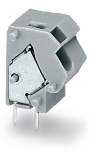 Veerkachtklemblok 1.50 mm² Aantal polen 1 WAGO Lichtgrijs 300 stuks