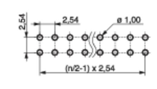 Male header (standaard) Aantal rijen: 2 Aantal polen per rij: 32 MPE Garry 087-2-064-0-S-XS0-1260 200 stuks
