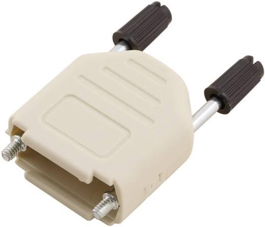 MH Connectors MHDPPK09-DEC-K D-SUB behuizing Aantal polen: 9 Kunststof 180 ° Grijs 1 stuks