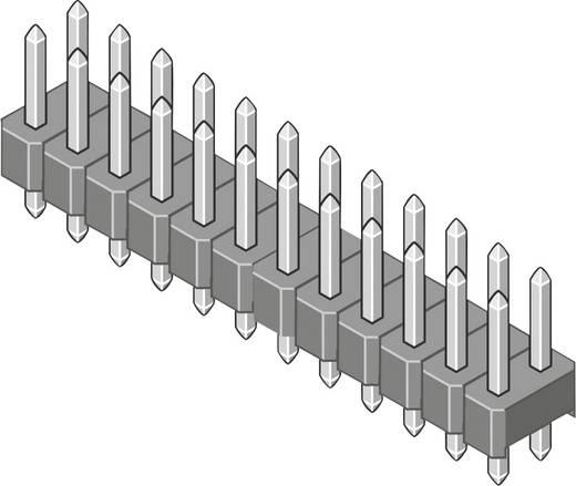 Male header (standaard) Aantal rijen: 2 Aantal polen per rij: 3 MPE Garry 087-2-006-0-S-XS0-1260 1000 stuks