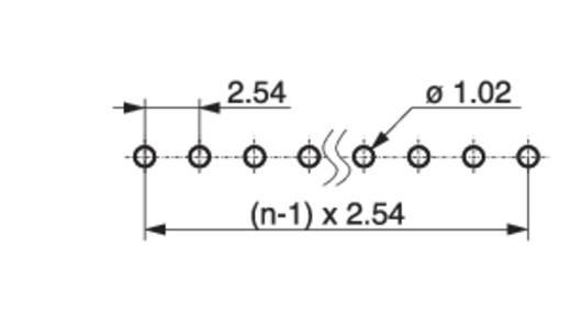 Male header (standaard) Aantal rijen: 1 Aantal polen per rij: 3 MPE Garry 088-1-003-0-S-XS0-1080 3000 stuks