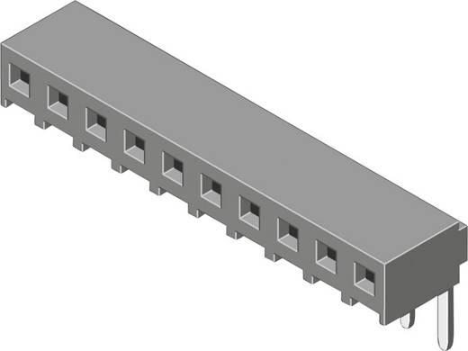 Female connector (standaard) Aantal rijen: 1 Aantal polen per rij: 20 MPE Garry 159-1-020-0-NFX-YS0 112 stuks