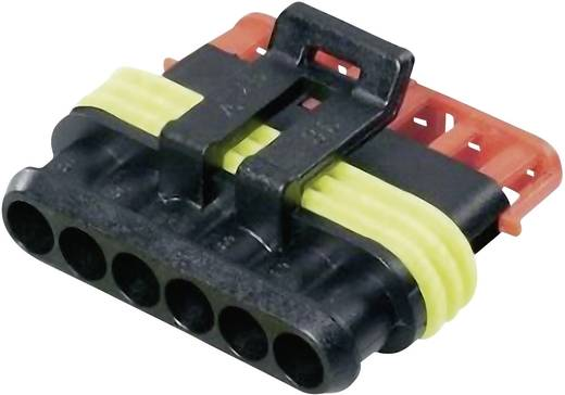 Busbehuizing-kabel Totaal aantal polen 6 TE Connectivity 28