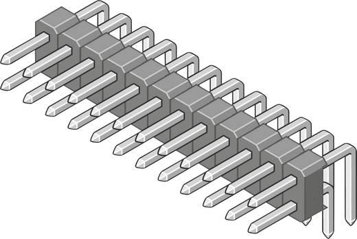 Male header (standaard) Aantal rijen: 2 Aantal polen per rij: 18 MPE Garry 088-2-036-0-S-XS0-1080 300 stuks
