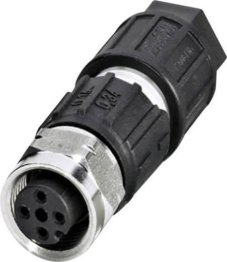 Phoenix Contact SACC-M12FS-4QO-0,34-VA Aanpasbare verbindingskabel M12 voor buitentoepassingen Aantal polen: 4 Inhoud: 1