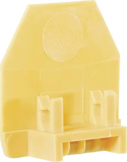 Scheidingsplaat voor doorgangsklemmen TS 4 geel Wieland Geel Inhoud: 1 stuks
