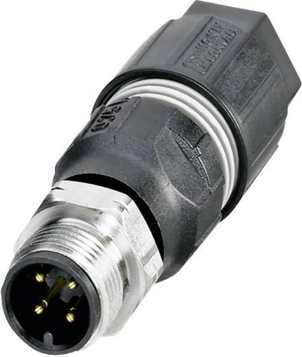 Phoenix Contact SACC-M12FS-4QO-0,75-VA Aanpasbare verbindingskabel M12 voor buitentoepassingen Aantal polen: 4 Inhoud: 1 stuks