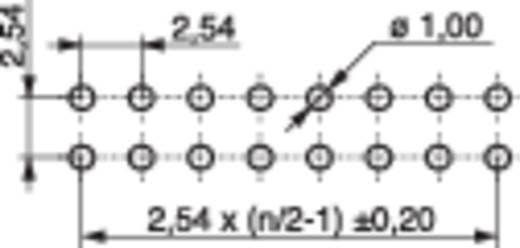 Female header (standaard) Aantal rijen: 2 Aantal polen per rij: 12 MPE Garry 095-2-024-0-NFX-BS0 120 stuks