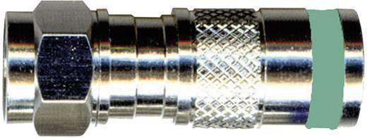 Interkabel F-KPS 51 F-compressiestekker Stekkerverbinder Kabeldiameter: 6.9 mm