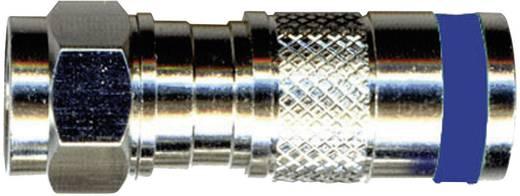 Interkabel F-KPS 49 F-compressiestekker Stekkerverbinder Kabeldiameter: 6.9 mm
