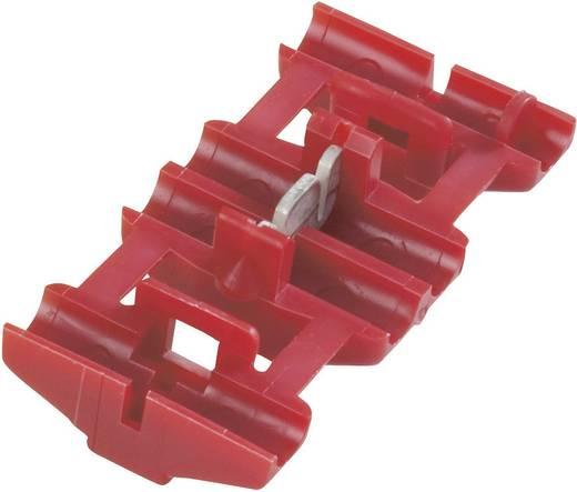 TE Connectivity Zwakstroomverbinder Flexibel: 0.5-0.75 mm² Massief: 0.5-0.75 mm² Aantal polen: 2 1 stuks Rood