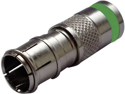 Interkabel F-KPS 51Q F-compressiestekker Stekkerverbinder Kabeldiameter: 6.9 mm