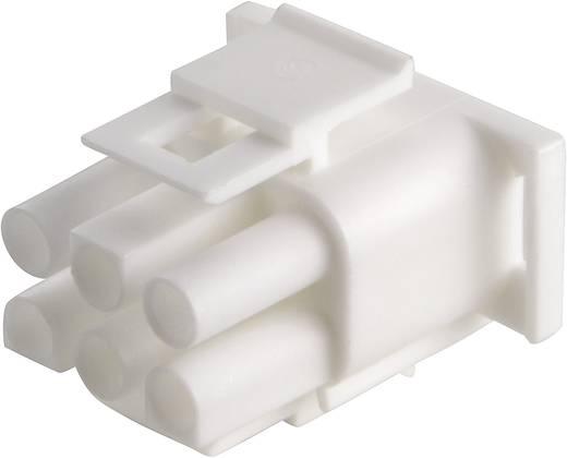 Penbehuizing-kabel Universal-MATE-N-LOK Totaal aantal polen 6 TE Connectivity 350715-4 Rastermaat: 6.35 mm 1 stuks