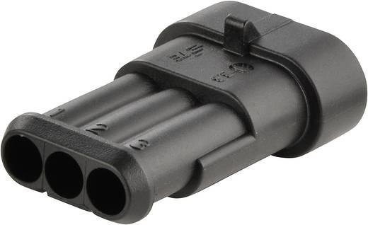 Penbehuizing-kabel AMP-Superseal 1.5mm Series Totaal aantal polen 3 TE Connectivity 282105-1 Rastermaat: 6 mm 1 stuks