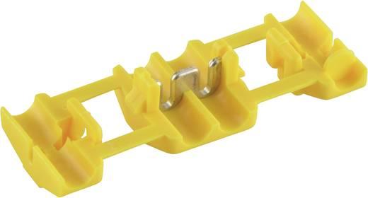 TE Connectivity 735411-0 Zwakstroomverbinder Flexibel: 4-6 mm² Massief: 4-6 mm² Aantal polen: 2 1 stuks Geel