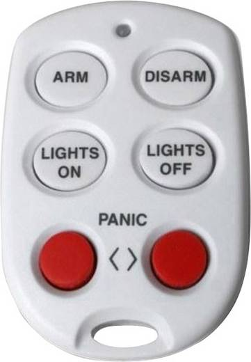 Haibrain KR21W Sleutelhanger afstandsbediening WIT voor Safeguard alarm