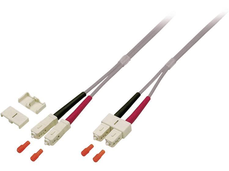Kabel EFB Elektronik Glasvezel [1x SC-stekker - 1x SC-stekker] 50/125µ 2 m