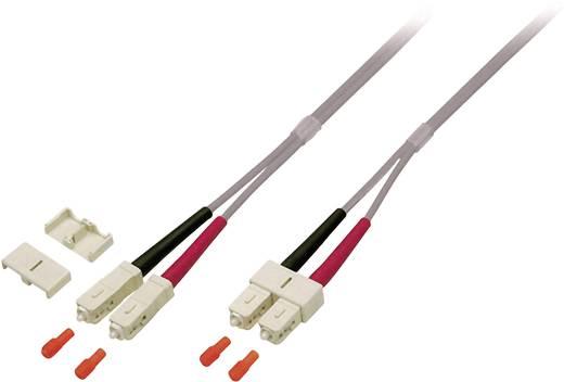 Kabel EFB Elektronik Glasvezel [1x SC-stekker - 1x SC-stekker] 50/125µ 1 m
