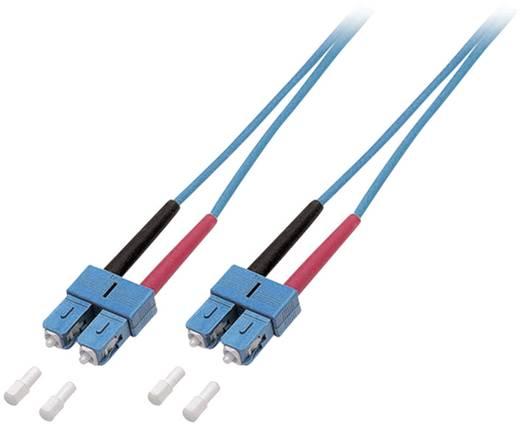 Kabel EFB Elektronik Glasvezel [1x SC-stekker - 1x SC-stekker] 9/125µ 3 m