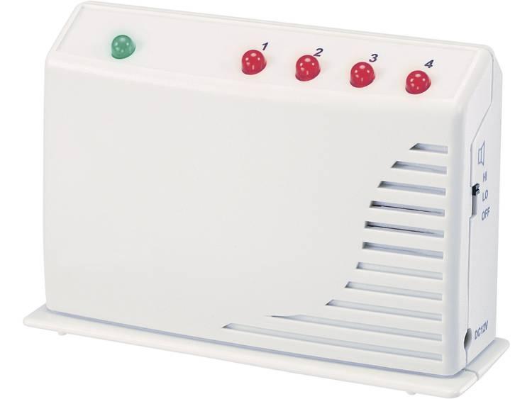Radiografische mini-alarminstallatie GM-433R Frequentie 433.92 MHz