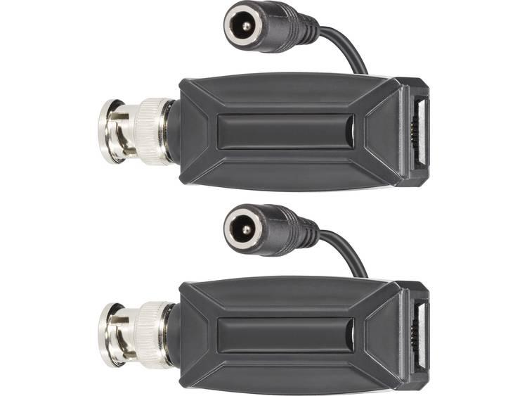 sygonix BNC PoE adapterset, 2 st.-set 43907V