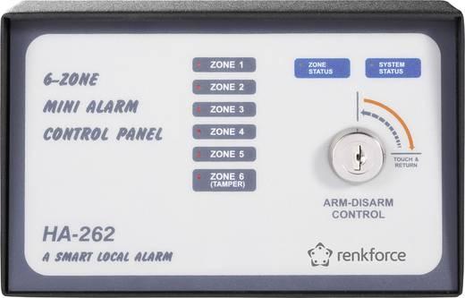 Renkforce 752181 Renkforce 6-zone alarminstallatie Signaaltransmissie Kabelgebonden