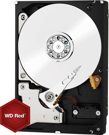 Harde schijf (3.5 inch) 3 TB Western Digital Red™ Bulk WD30EFRX SATA III