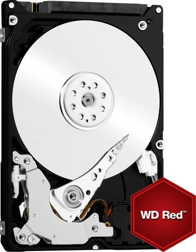 Western Digital Red™ Mobile WD7500BFCX 750 GB Harde schijf (2.5 inch) SATA III