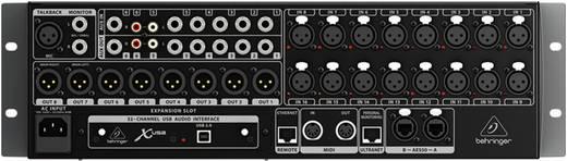 Behringer X32 rack Digitaal mengpaneel Aantal kanalen:32 USB-aansluiting