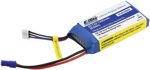 LiPo accupack 7.4 V 1300 mAh 20 C E-flite EC2