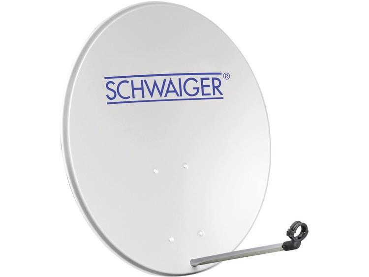 Schwaiger SPI2080 Satellietschotel 80 cm Reflectormateriaal Aluminium Aluminium